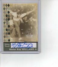 Walter Ray Williams Jr PBA 2008 TK Legacy Milestone Moments Signed Bowling Card