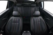 For Vw Golf MK 6 Black Leatherette Soft Luxury Front & Rear Car Set Seat Covers