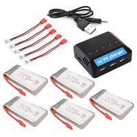 Charger + 3.7V 1200mAh/800mAh/600mAh Battery 6pcs/5pcs/4x/2x for Syma X5HC X5HW