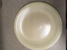 "Vintage Fiestaware - Chop Plate - 14 1/2"" - Ivory $50 O.B.O."