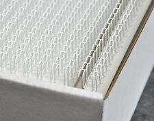 Binding Wires A4 6mm 34-Loop 3:1 Pitch No.4 White Pack of 100