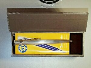 Retro 1951 Agenda Sterling Silver Ballpoint with Original Box and Papers