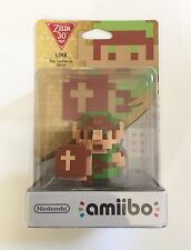 The Legend Of Zelda - 30th 8 Bit LINK Amiibo Figure - NEW!