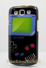 for Samsung galaxy s3 hard case skin Nintendo game boy picture black green/