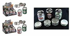 Beer Can Shape Grinder Herb Magnetic Grinder 4 Part