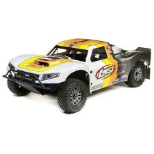 Losi 1/5 5IVE-T 2.0 4WD Short Course Truck Gas BND Grey/Orng/White - LOS05014T2