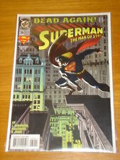 SUPERMAN MAN OF STEEL #39 DC COMIC NEAR MINT CONDITION DECEMBER 1994