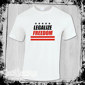 Legalize Freedom Chase freedom American Flag Stripes Men's T Shirt