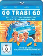 Go Trabi Go - Teil: 1 + 2  [Blu-ray/NEU/OVP] Klassiker der Wendezeit! Ein Stück