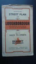 Loughborough map based Ordnance Survey 1965? Hathern Stanford Quorndon Nanpanton