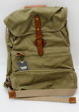 """Tanner Voyager Daypack Waxed Field Tan Day Rucksack 31710 18 """" x 12 """" x 6.5 """""""