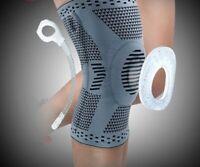Adjustable Knee Protector Soft Silicone Patella Strap Guard Belt Support Brace