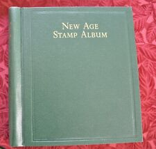 Schaubeck USA leaves, 1847-1969 in SG New Age Stamp Album. 900 different stamps