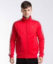 ADIDAS Originals Beckenbauer Zip Track Top Jacket Red Medium TD076 QQ 12
