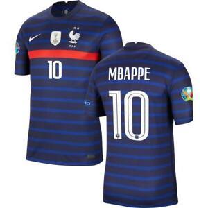 Kylian Mbappé 10 France Jersey 2021 (S M L XL XXL) Euro 2020
