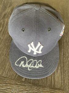 Derek Jeter Autographed Signed 2001 World Series Game Hat JSA LOA