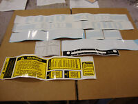 4600 FORD TRACTOR COMPLETE DECAL SET 4600