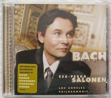 Bach Transcriptions Esa-Pekka Salonen CD Sony SK89012 2000