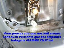 2 AMPOULE 45 LED BLANC SMD P21W ANTI SANS ERREUR ODB