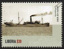 La première guerre mondiale ss/hms wonganella royal navy q-navire armé merchant croiseur navire de guerre timbre