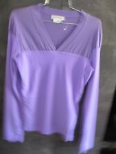 Authentic Comme des Garcons double purple top size S made in Japan
