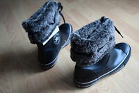 CONVERSE Andover BOOT BOTTE HI CUIR 36 37 37,5 38 Chucks ALL STAR hiver 519214