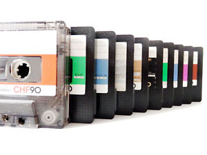 """Ten(10) SONY cassette tapes in CHF-genetation Japan ver """"Only-tape"""" condition"""