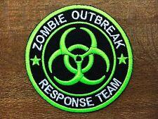 New ZOMBIE BIOHAZARD Patch Outbreak Response Team Sew Iron On Patch Cap Jacket