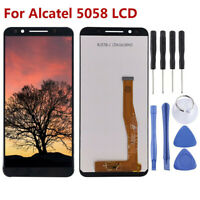Pantalla LCD ensamblaje digitalizador Para Alcatel 3X / 5058 / 5058A Negro ARES