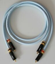 Supra Cables EFF ISL Cinchkabel mit PPSL RCA Stecker verspannbar Audiokabel 2m