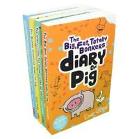 Emer Stamp 4 Books Set Collection The Seriously Extraordinary Diary of Pig....