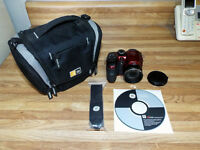 GE Power Pro Series X5 14.1MP Digital Camera - Red P4300