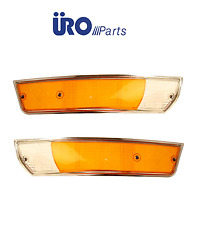 NEW Porsche 911 912 Pair Set of Left and Right Turn Signals Light Lens URO