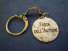 """PORTACHIAVI """" FESTA DELL' AUTIERE """" ESERCITO ITALIANO VINTAGE  S-O-1"""