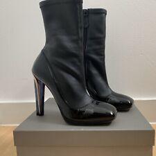 Alexander McQueen New Women's Black Boots UK6