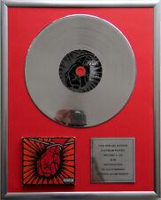 """Metallica St.Anger CD Cover +12"""" Vinyl goldene /platin Schallplatte"""