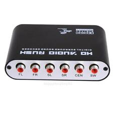 DTS AC3 5.1 CH SPDIF Coaxial Audio DTS/AC-3 to 5.1 Analog Converter Decoder US