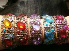 Rhinestone Alloy Rhinestone Costume Bracelets