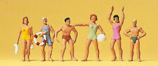 Ho Preiser 10070 Standing Swimmers : 1/87 Bathers at the Beach Figures
