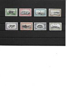 Falkland Islands 1933 Centenary SHORT SET of 8 to 1s SG127-134 Fine Mtd Mint