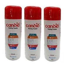 3 x Anti-Fungal CANDID DUSTING POWDER CLOTRIMAZOLE 100gm FDA APPROVED OTC