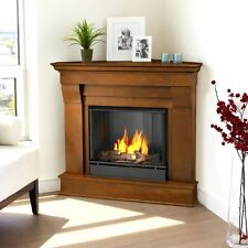 Real Flame Chateau Corner Ventless Gel Fireplace- Espresso - 5950-E NEW