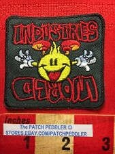 Flameboy WORLD INDUSTRIES Vers. 3 Skateboard Jacket Patch Logo Vtg 1990s 5DQQ