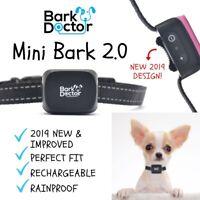 NEW 2019 DESIGN 2.0 Anti Bark Collar SOUND & Vibration XS SMALL 2-12kg dogs 656v