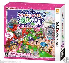 TONGARI BONSHITO MAHO NO MACHI KONAMI 3DS NINTENDO JAPANESE  JAPANZON