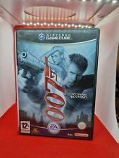 Nintendo Gamecube Everything Or Nothing 007 James Bond Game