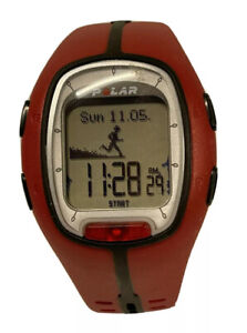 Red Polar RS200 Heart Rate Running Computer Monitor - Watch Only NEW Battery