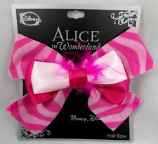 -new-disney-alice-in-wonderland-cheshire-cat-hair-bow-tie-clip-pin-cosplay-dress