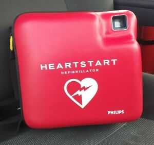 Philips Heartstart AED with good Battery, new Pad & Carry Case