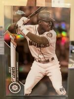 2020 Topps Chrome Kyle Lewis Sepia SP Refractor RC #186 ROY Mariners